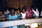 Classroom of rural school, Darfur