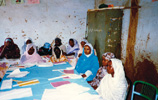 Sewing lessons for rural women